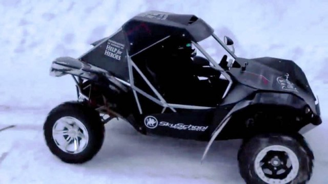 The Alpine Climb buggy racing