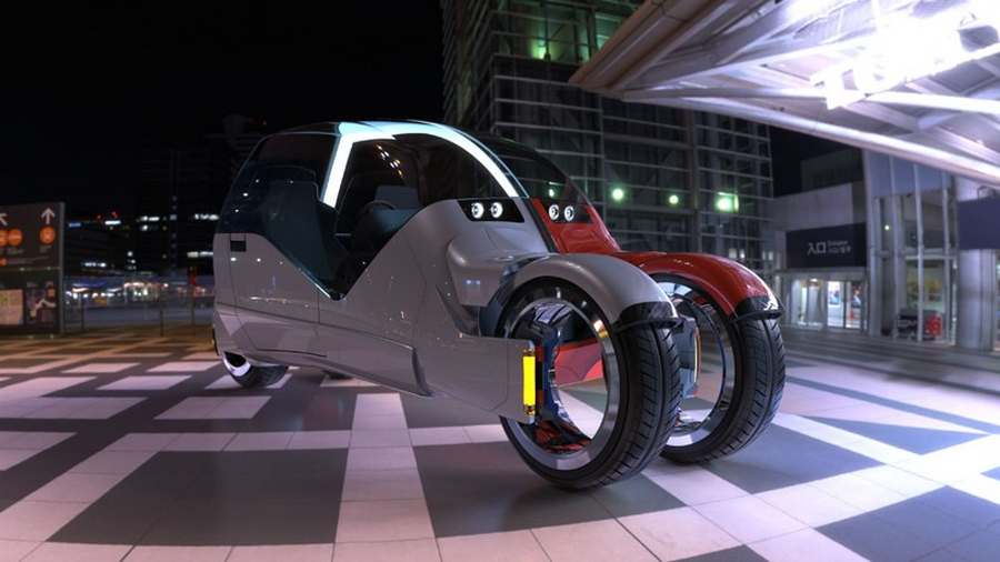 Concept car splits in two motorcycles (9)