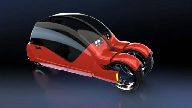 Concept car splits in two motorcycles (8)