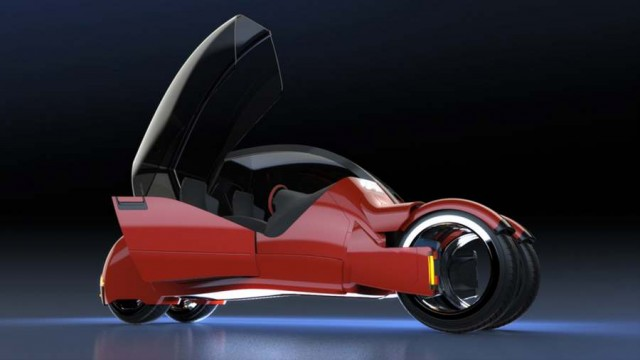 Concept car splits in two motorcycles (6)