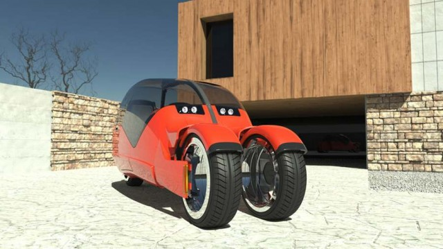 Concept car splits in two motorcycles (5)