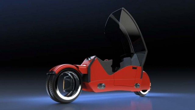 Concept car splits in two motorcycles (1)