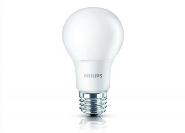 New LED light bulb announced by Philips