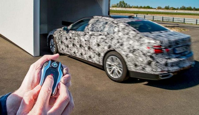 The new BMW 7 Series will park by remote control