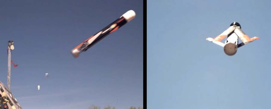 Tube-launcher of multiple swarming UAVs