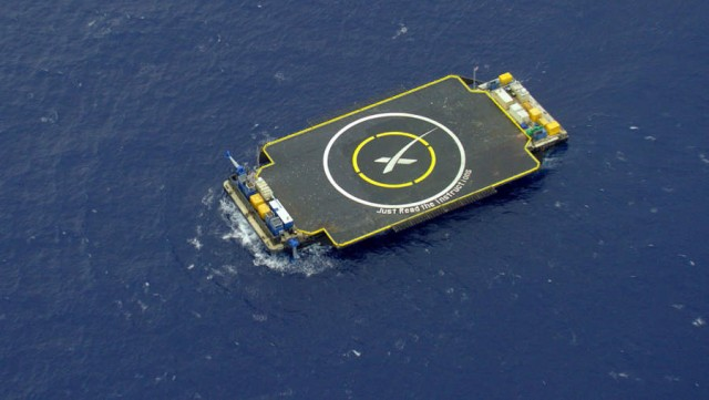 Rocket Landing on Just Read The Instructions drone ship