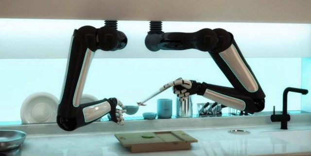 Automated Robotic Kitchen