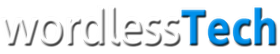 wordlessTech Mobile Retina Logo