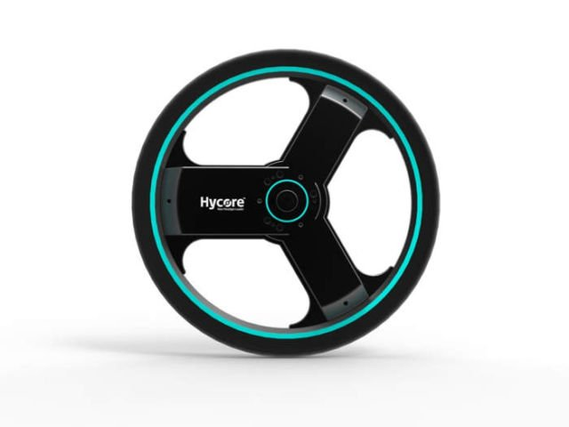 All-in-one smart electric bike wheel