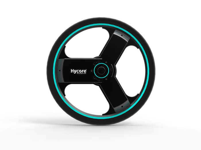 All-in-one smart electric bike wheel (5)
