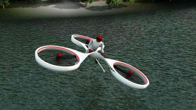 Flike personal Flying Bike (2)