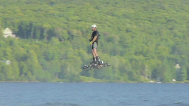 World Record for the farthest on Hoverboard