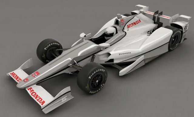 Honda, Chevy speedway aero for Indy 500