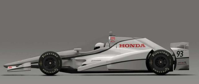 Honda, Chevy speedway aero for Indy 500 (2)