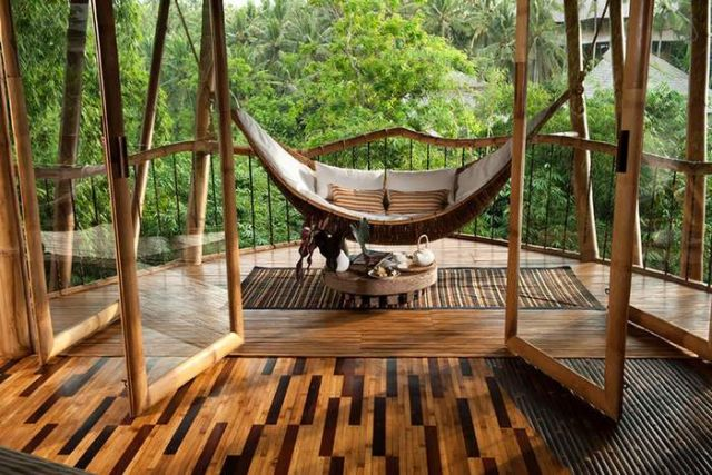 Bamboo houses in Indonesia (5)