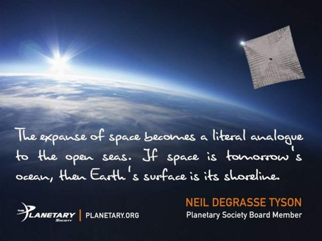 LightSail- Solar Sailing Spacecraft