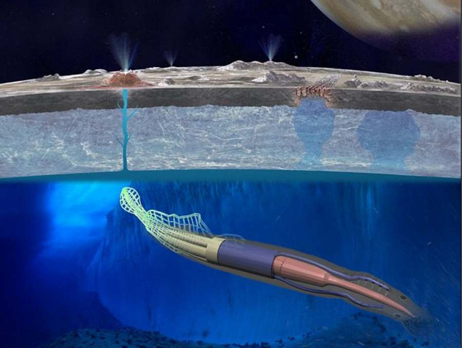 Robo-Squid will explore Europa