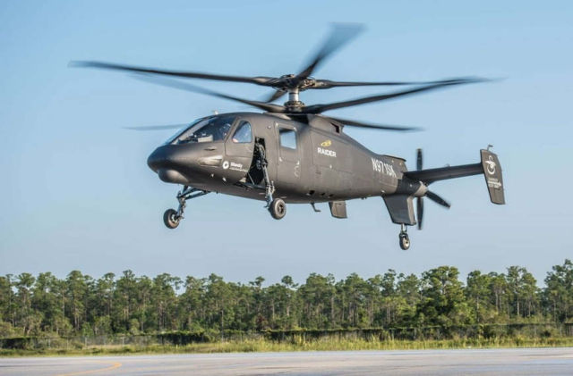 S-97 RAIDER helicopter