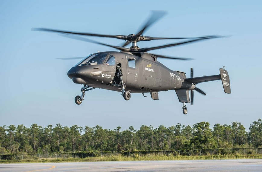 S-97-RAIDER-helicopter-First-Flight-1