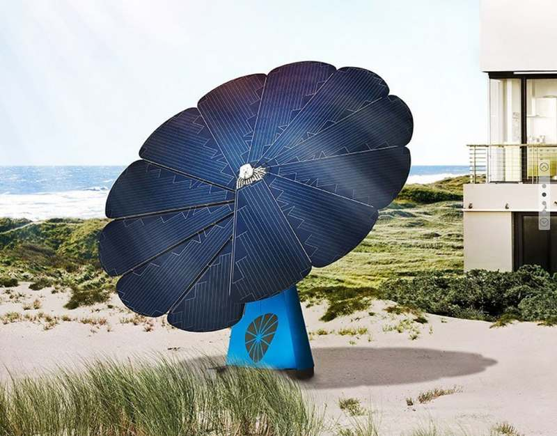 Smartflower Solar Panel | wordlessTech
