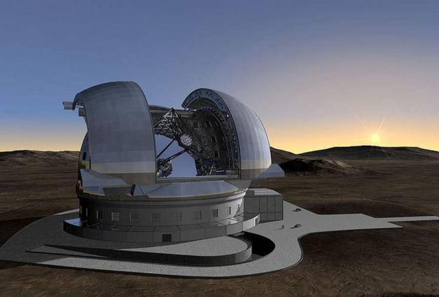 Extremely Large Telescope compared to... (1)