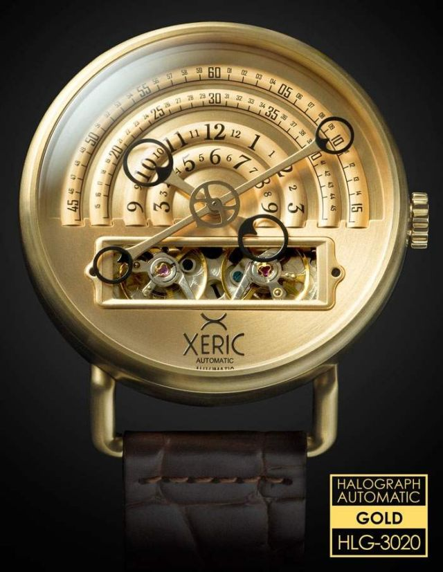 Halograph automatic watch (2)