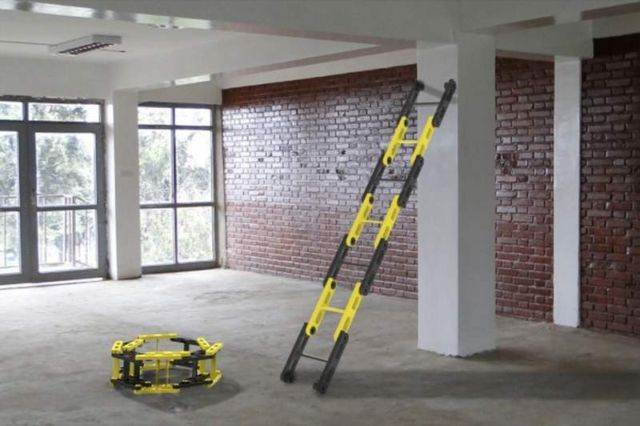 The Roll-able Ladder