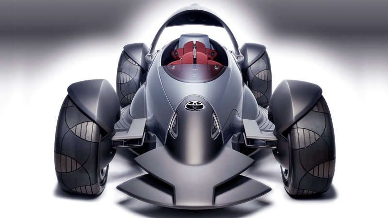 Toyota's open-wheel sports car
