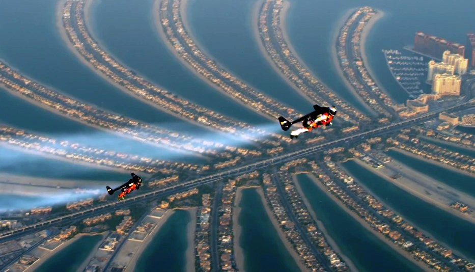 Jetman in Dubai