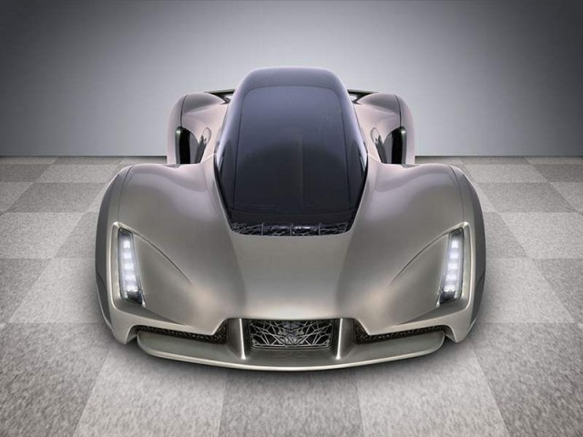 3D printed supercar by Divergent Microfactories