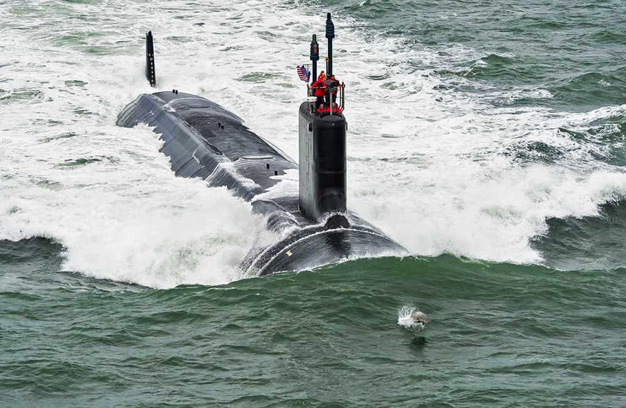 Dolphin and the Navy's Newest Submarine