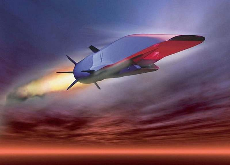 Hypersonic air vehicle based on the X-51