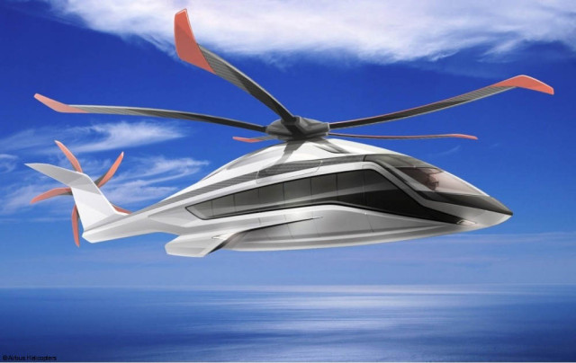 Airbus X6 heavy-lift helicopter