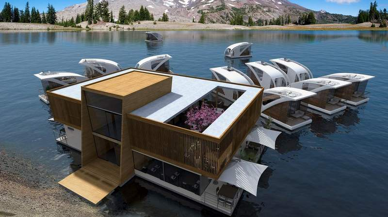 floating Catamaran hotel (7)
