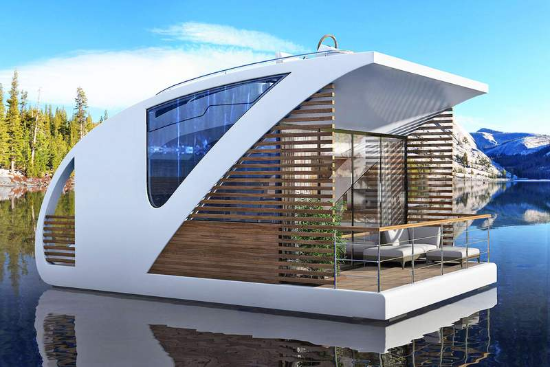 Amazing floating catamaran hotel concept wordlesstech for Hotel concepts