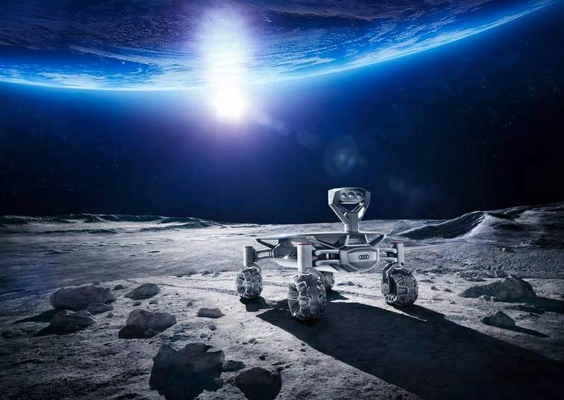Audi's 4WD Moon Rover (4)