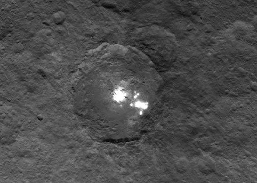 The bright spots on Ceres