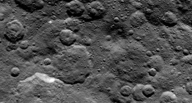 The mystery of Spots on Ceres