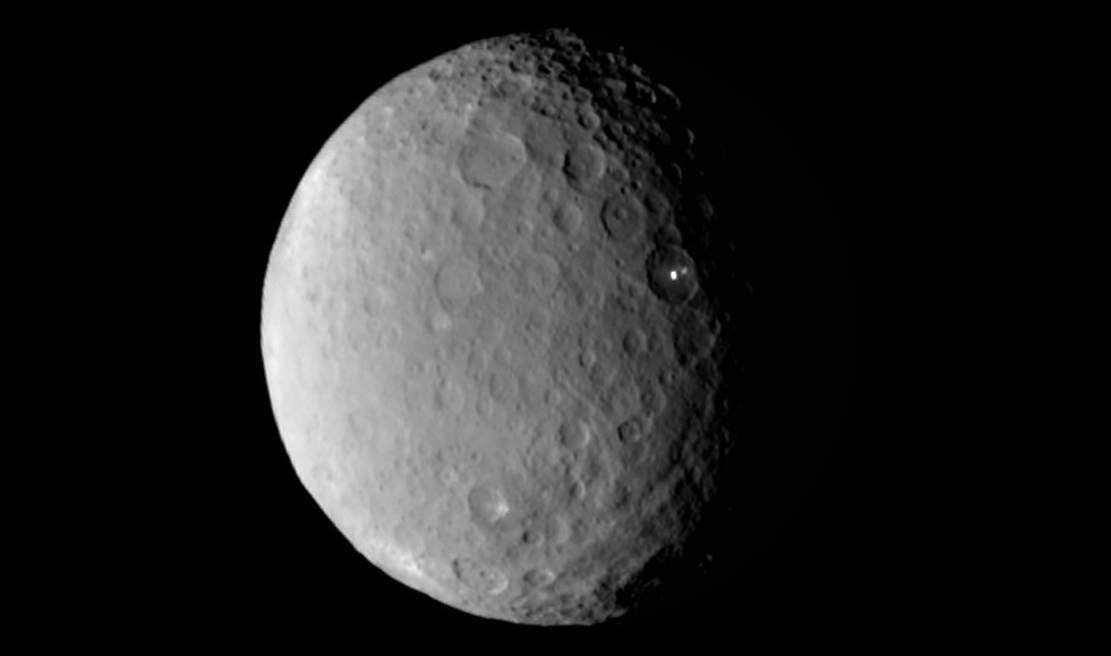 The bright spots on Ceres 3