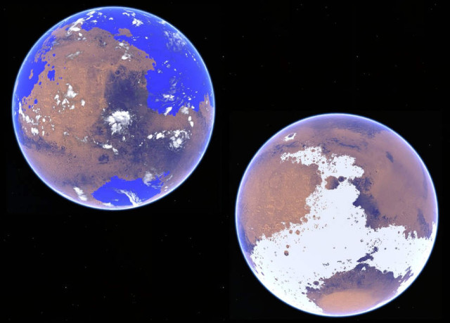 Warm and cold scenarios for early Mars
