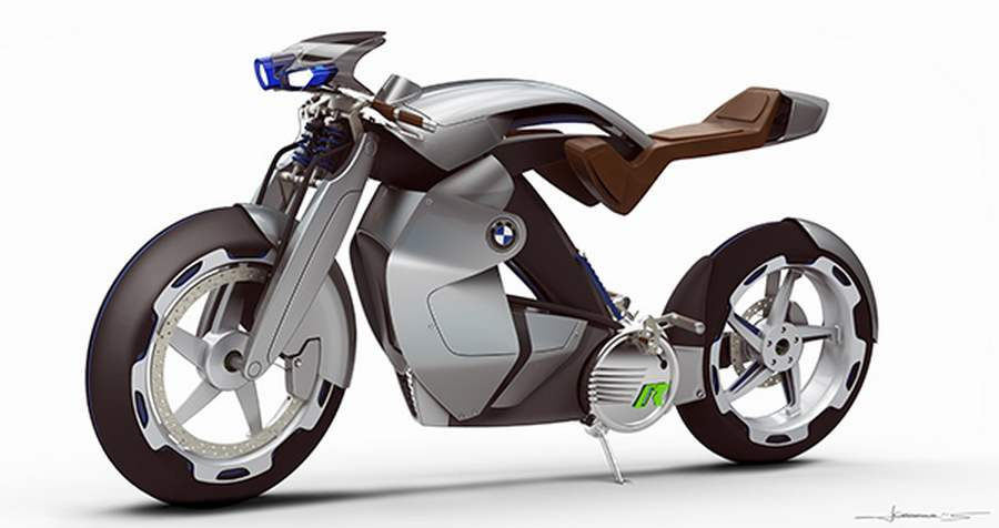 Electric Bmw Ir Motorcycle Concept