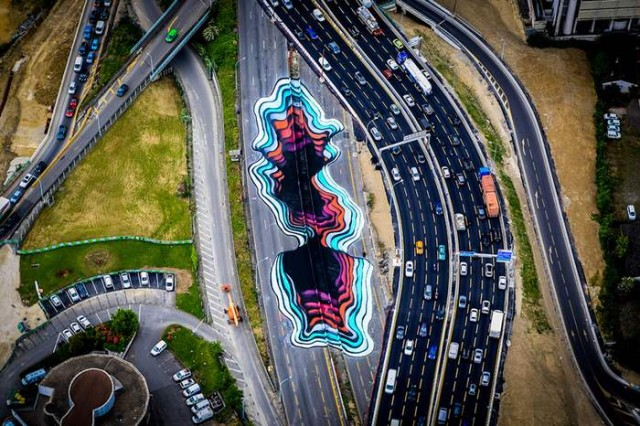 Giant Optical Illusion in Paris by 1010 (3)