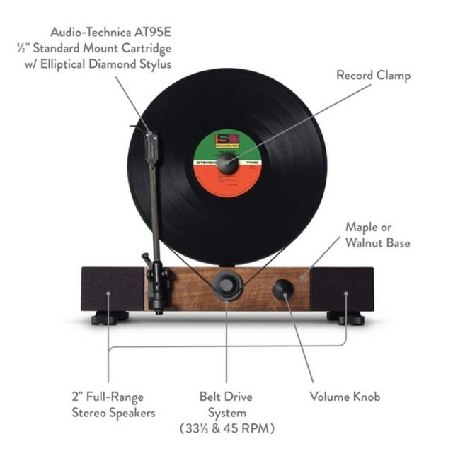 Gramovox Floating vertical record player (2)