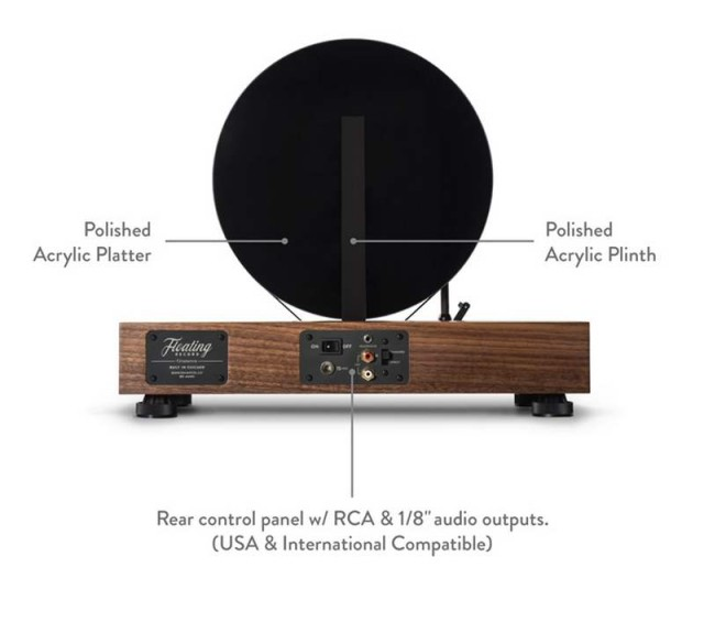 Gramovox Floating vertical record player (1)
