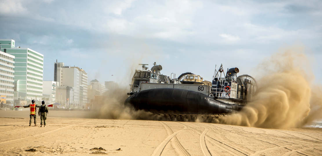 LCAC- Landing Craft, Air Cushion