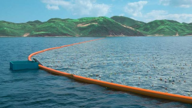 Ocean Cleanup Array concept 2