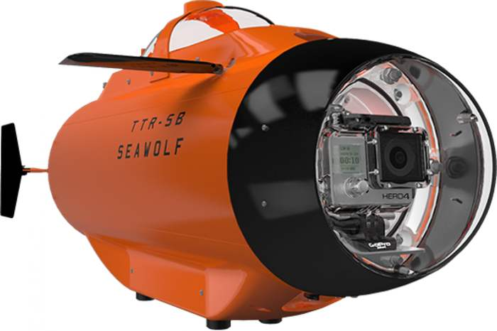 Seawolf remotely operated submarine