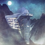 Semiotic Alpine Escape futuristic Hotel (7)