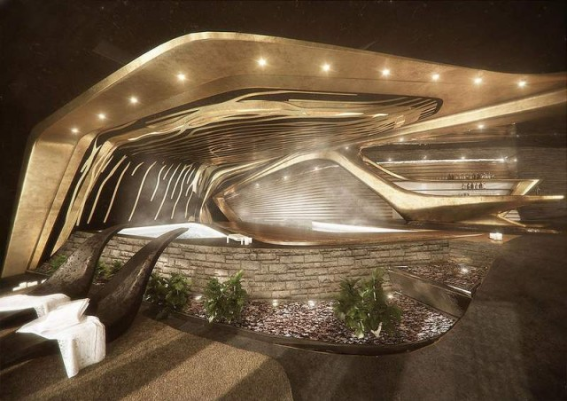 Semiotic Alpine Escape futuristic Hotel (6)
