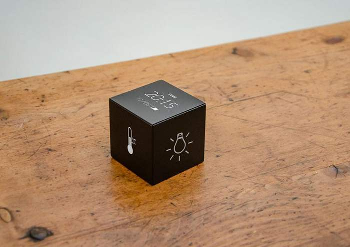 wordlesstech small cube remote control for your smart home. Black Bedroom Furniture Sets. Home Design Ideas
